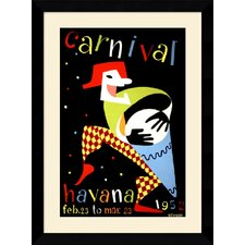 "<strong>Amanti Art</strong> Carnival, Havana, 1952 Framed Art Print Framed Decorative Art Print - 33.37"" x 24.62"""