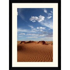 "<strong>Amanti Art</strong> Desert Sky by Andy Magee Framed Fine Art Print - 38.62"" x 28.62"""