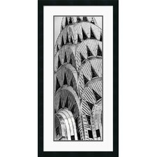 "<strong>Amanti Art</strong> Chrysler Building by Torsten Andreas Hoffman Framed Fine Art Print - 34"" x 17.5"""