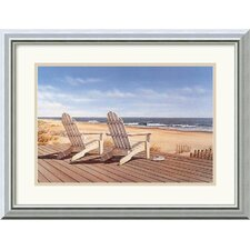 "<strong>Amanti Art</strong> Point East by Daniel Pollera Framed Fine Art Print - 15.99"" x 19.99"""