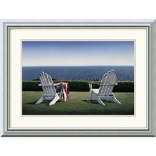 "<strong>Amanti Art</strong> Spring House View by Daniel Pollera Framed Fine Art Print - 15.99"" x 19.99"""