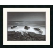"<strong>Amanti Art</strong> Island Cliff by Chip Forelli Framed Fine Art Print - 18"" x 22"""