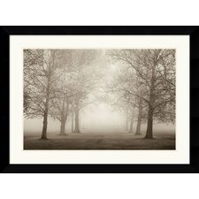 <strong>Amanti Art</strong> Large Layers of Trees II Framed Art Print by Igor Svibilsky