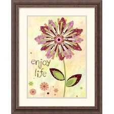 "<strong>Amanti Art</strong> Petal Power I by Wendy Bentley Framed Fine Art Print - 22.3"" x 18.3"""