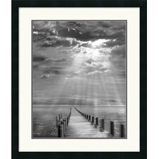 "<strong>Amanti Art</strong> Storm Clearing by Ellen Fisch Framed Fine Art Print - 27"" x 23"""