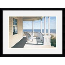 "<strong>Amanti Art</strong> Breezy Point by Daniel Pollera Framed Art Print - 15.12"" x 19.12"""