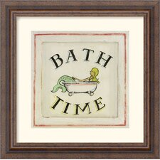 <strong>Amanti Art</strong> Bathtime II Framed Art Print by Zaricor