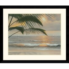 <strong>Amanti Art</strong> Paradisio Framed Art Print by Diane Romanello