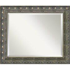 <strong>Amanti Art</strong> Barcelona Medium Mirror in Champagne and Pewter