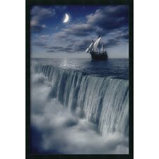 <strong>Amanti Art</strong> Sailboat at Earth's End Framed Print
