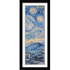 Starry Night (Detail) Framed Print by Vincent Van Gogh