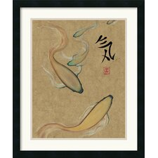 <strong>Amanti Art</strong> Energy I Gold Framed Print by Barbara Psimas