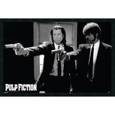 Pulp Fiction - Duo Guns Framed Print