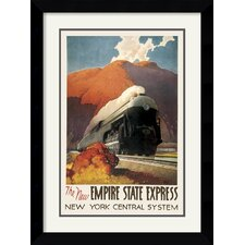 <strong>Amanti Art</strong> Empire State Express Framed Print by Leslie Ragan