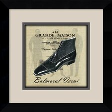 'Grande Maison III' by Susan W. Berman Framed Vintage Advertisement