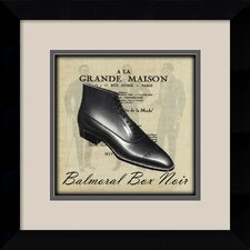 'Grande Maison IV' by Susan W. Berman Framed Vintage Advertisement