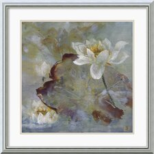 <strong>Amanti Art</strong> Water Lily II Framed Print by Mei