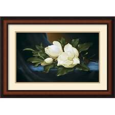 <strong>Amanti Art</strong> Magnolias Framed Print by Paul Cordsen