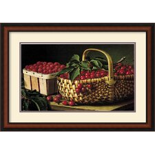 <strong>Amanti Art</strong> Still Life with Berries Framed Print by L.W. Prentice