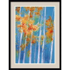 <strong>Amanti Art</strong> Bristling Birch Framed Print by Karen Mason