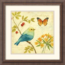 <strong>Amanti Art</strong> Garden Passion I Framed Print by Daphne Brissonnet