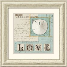<strong>Amanti Art</strong> Beach Journal I Framed Print by Wild Apple Portfolio