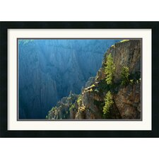 <strong>Amanti Art</strong> Black Canyon Morning Framed Print by Andy Magee