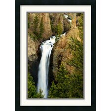 <strong>Amanti Art</strong> Tower Falls Framed Print by Andy Magee