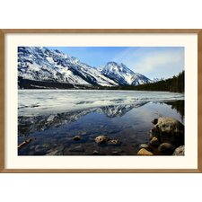 'Grand Tetons at Jenny Lake' by Andy Magee Framed Photographic Print