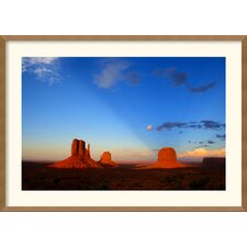 'Monument Valley Sunset' by Andy Magee Framed Photographic Print