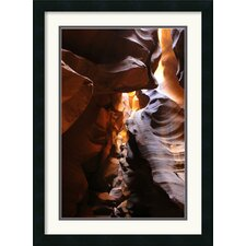<strong>Amanti Art</strong> Antelope Canyon Lightplay Framed Print by Andy Magee