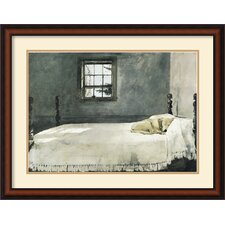 'Master Bedroom' by Andrew Wyeth Framed Graphic Art