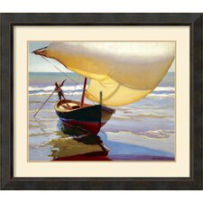 <strong>Amanti Art</strong> Fishing Boat, Spain Framed Print by Arthur Grover Rider