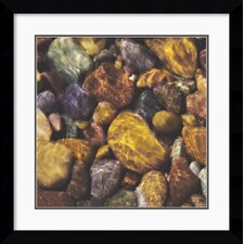 <strong>Amanti Art</strong> River Rocks Framed Print by Will Connor