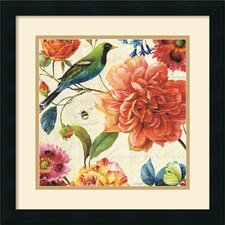 <strong>Amanti Art</strong> Rainbow Garden II Cream Framed Print by Lisa Audit