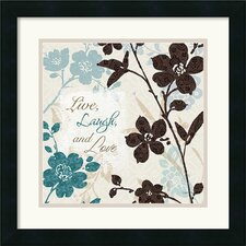 <strong>Amanti Art</strong> Botanical Touch Quote II Framed Print by Lisa Audit