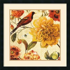 <strong>Amanti Art</strong> Rainbow Garden Spice II Framed Print by Lisa Audit