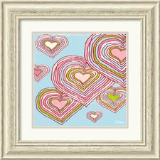 <strong>Amanti Art</strong> Hearts in Dreamland Framed Print by Peter Horjus