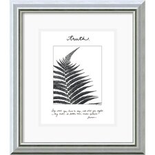 <strong>Amanti Art</strong> Truth Framed Print by Debra Van Swearingen