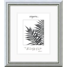 'Aspire' by Debra Van Swearingen Framed Graphic Art