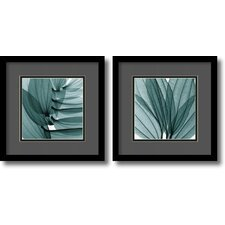 Gray and Black Lilies Framed Print by Steven N. Meyers (Set of 2)