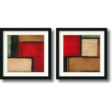 <strong>Amanti Art</strong> Merge & Yield Framed Print by Candice Alford (Set of 2)