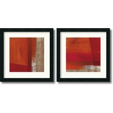 <strong>Amanti Art</strong> Andromeda and Cepheus Framed Print by Leo Burns (Set of 2)