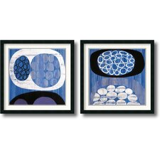<strong>Amanti Art</strong> Waterway Framed Print by Mary Calkins (Set of 2)