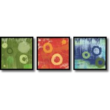 <strong>Amanti Art</strong> Verdure, Cinder, Ocean Framed Print by Erin Clark (Set of 3)