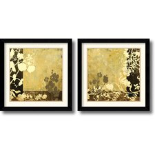 <strong>Amanti Art</strong> Symphony Framed Print by Kemp (Set of 2)