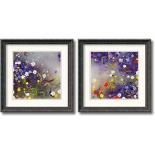 <strong>Amanti Art</strong> Gardens in The Mist Framed Print by Aleah Koury (Set of 2)
