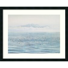 <strong>Amanti Art</strong> Migrating Ducks Framed Print Wall Art