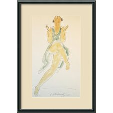 <strong>Amanti Art</strong> Isadora Duncan, Dancing, 1920 Framed Print Wall Art