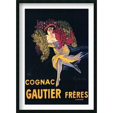 "<strong>Amanti Art</strong> Cognac Gautier Freres Framed Art Print Framed Decorative Art Print - 42"" x 30"""
